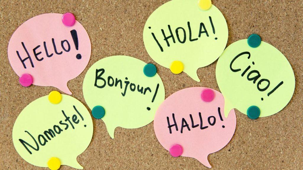 Importancia de saber idiomas